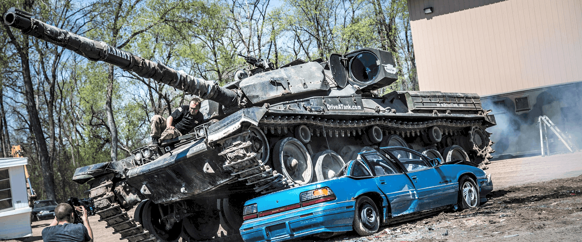 Drive a Tank Service Minnesota How To