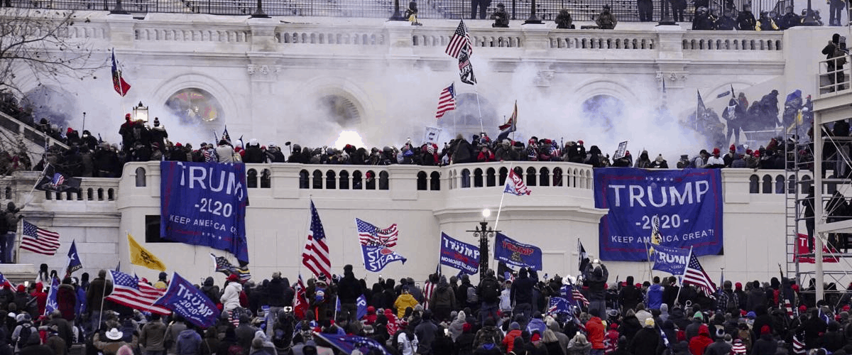 capitol DC riot insurrection trump